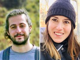 Darko Brajnovich Soler i  Aida GrimaTovar.